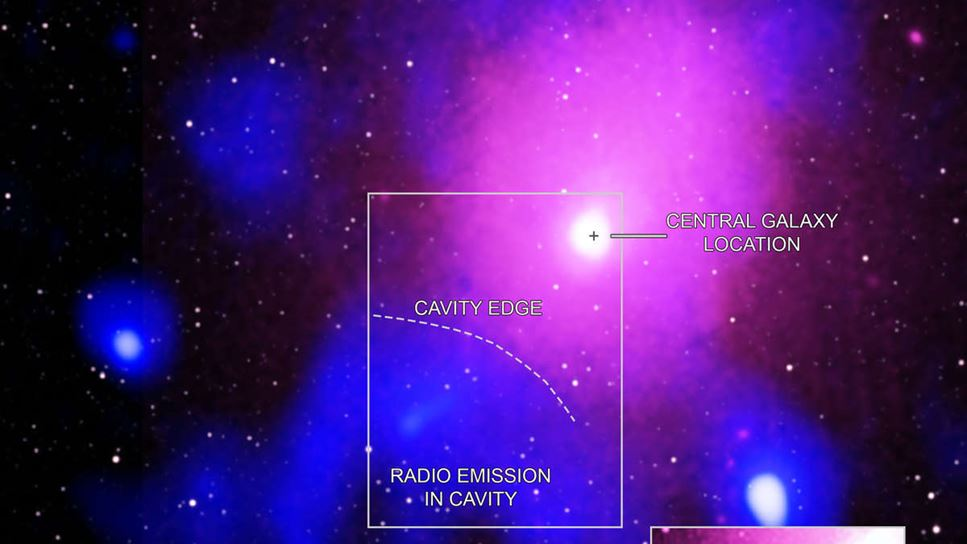 Astronomer har upptäckt den största explosionen i universums historia