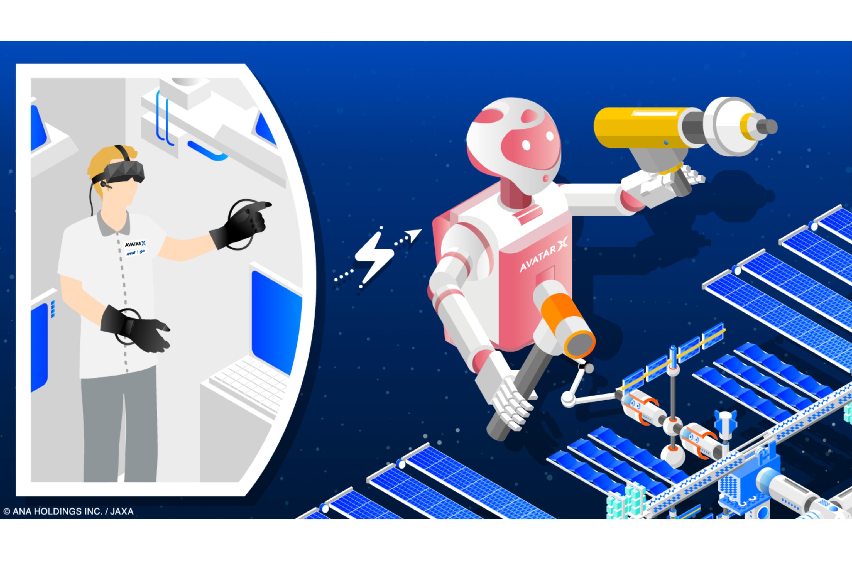 Upplev rymden med japanska avatarer