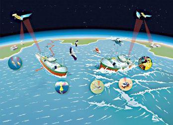 Globalt satellitsystem räddar liv på nödställda