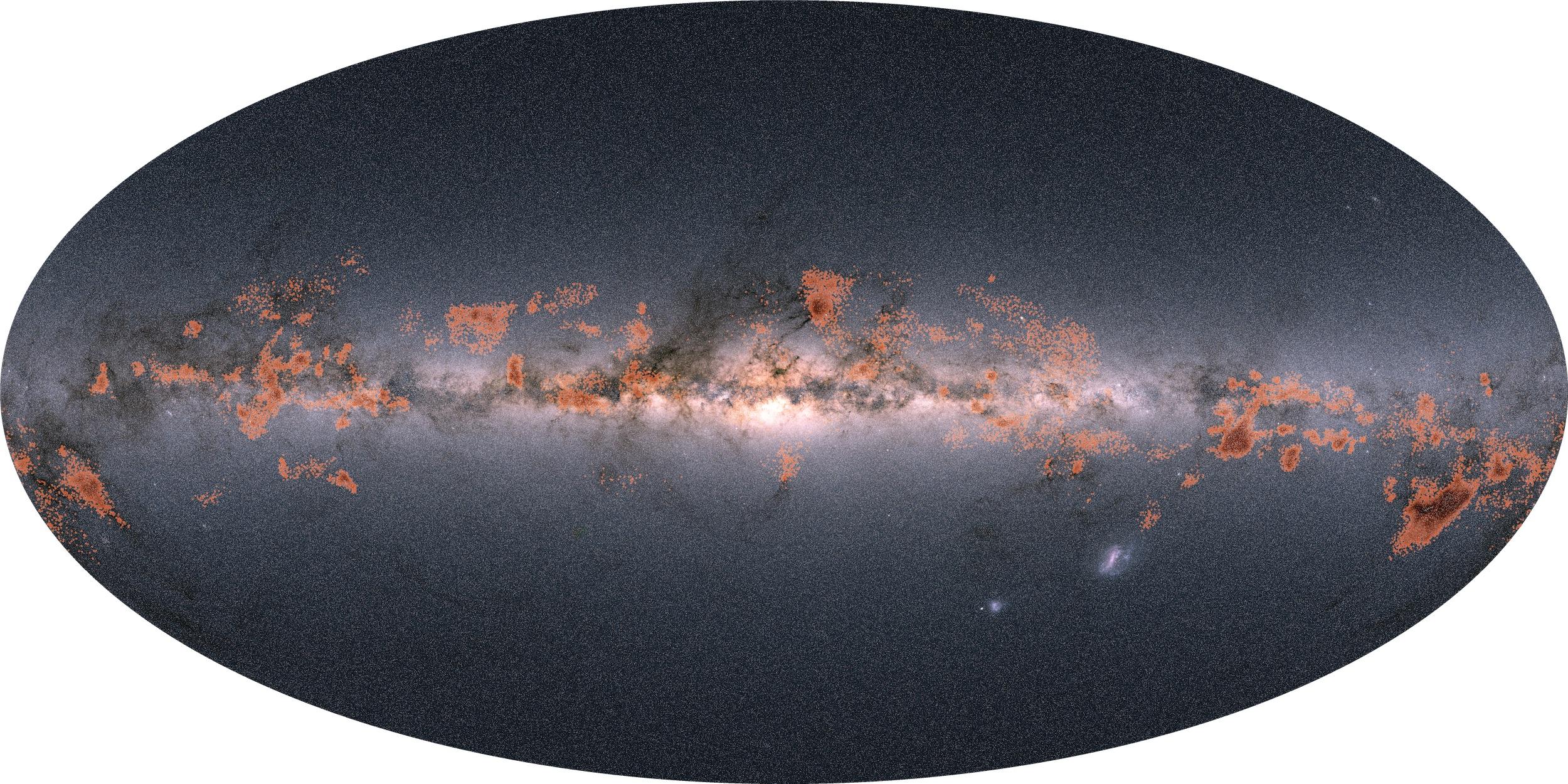 Rymdteleskopet Gaia avslöjar nya fakta om Vintergatans stjärnor