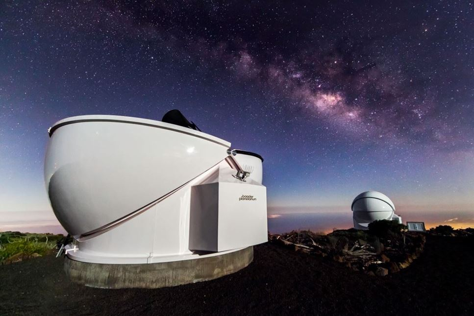 Lärarfortbildning: Utforska universum – från Teneriffa