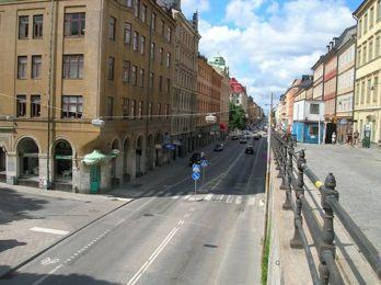 Renare Stockholmsluft med rymdens hjälp