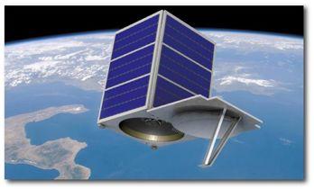 ECAPS bränsle för första gången på kommersiell satellit