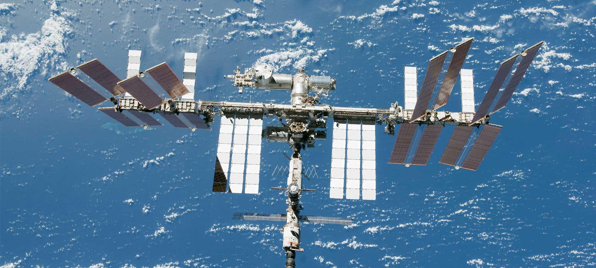 Utbildningsmaterial om Internationella rymdstationen