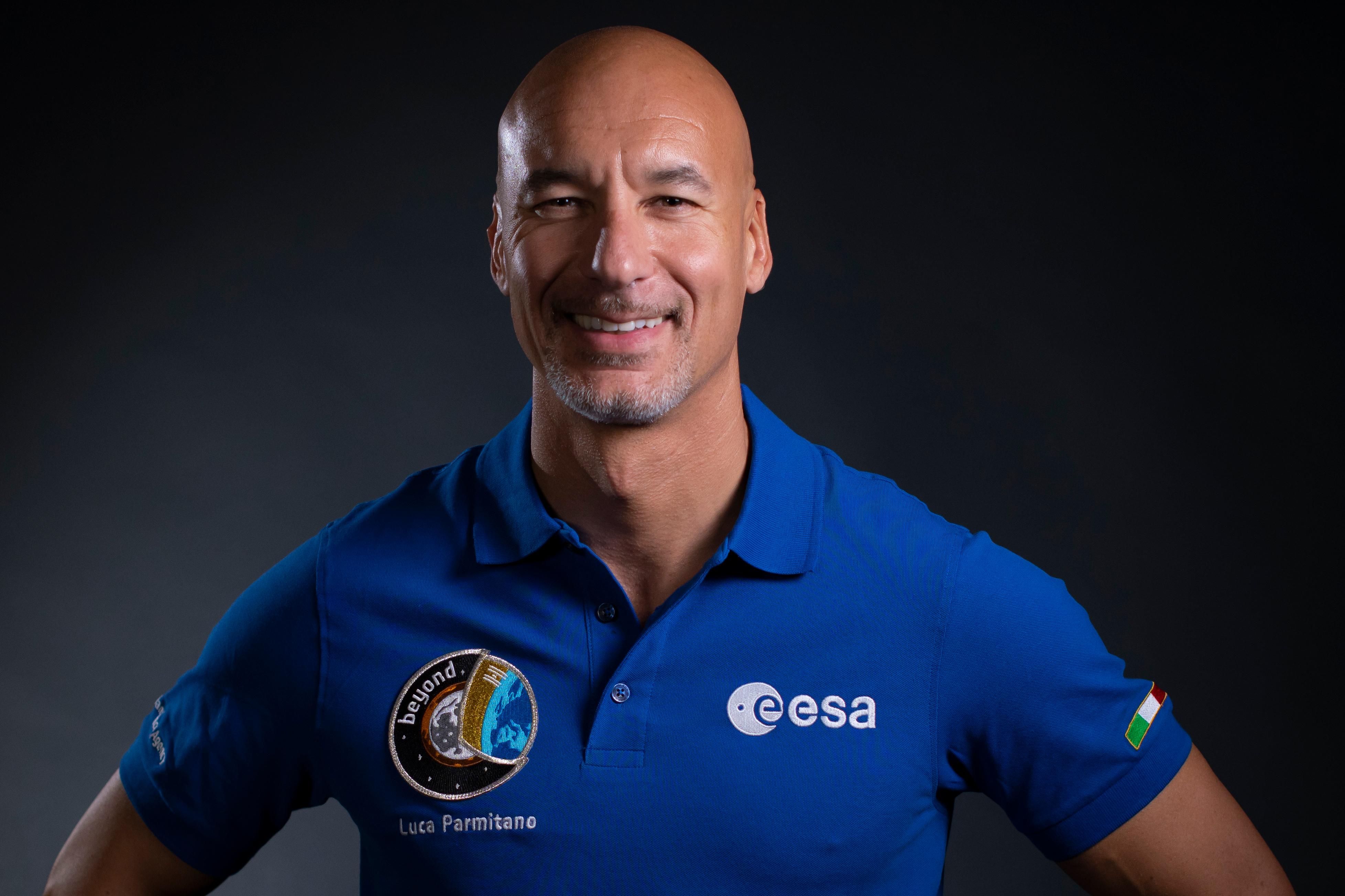 Luca Parmitano blir den första italienska befälhavaren på ISS