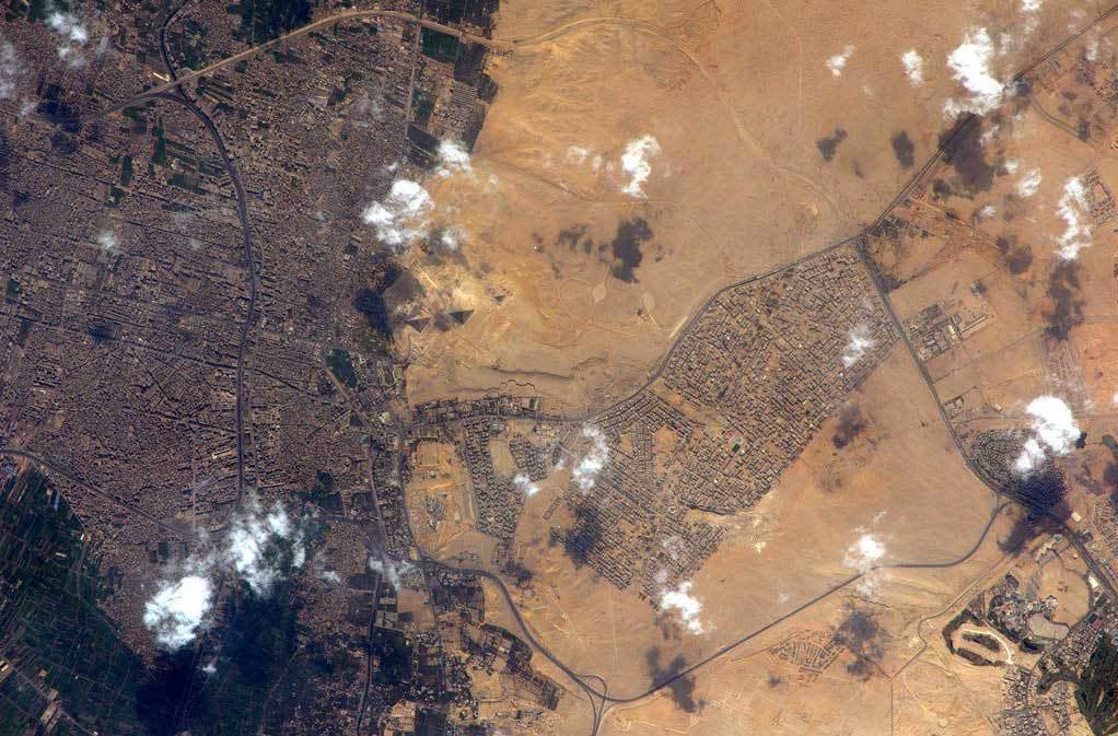 Pyramider från rymden