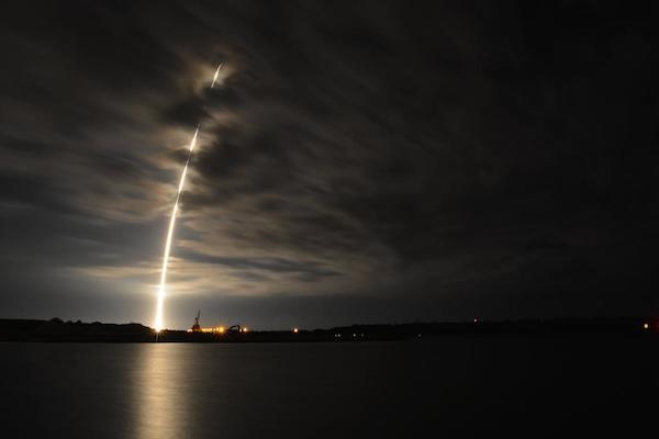 För hård landning för Falcon 9