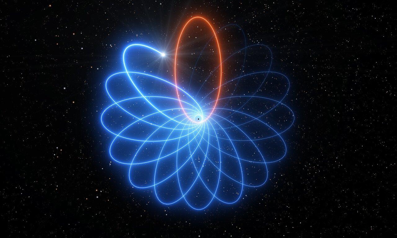 Dansande stjärna bekräftar Einsteins teori