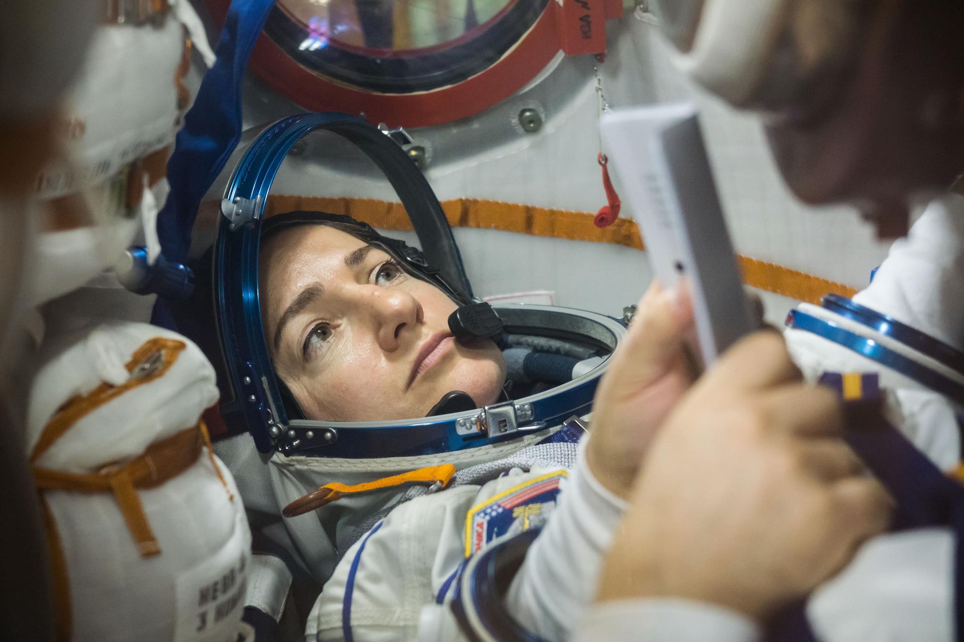 3, 2, 1… Liftoff Jessica Meir!