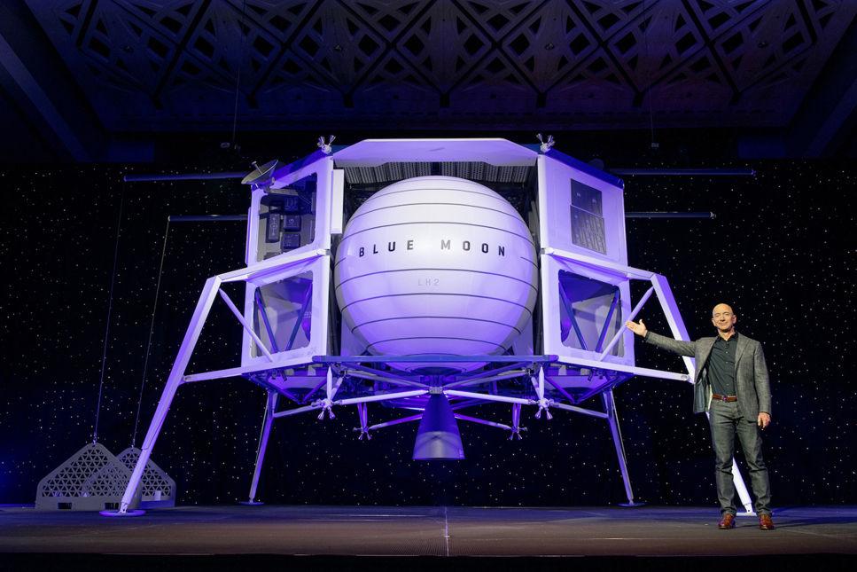 Nya detaljer om månlandaren Blue Moon har presenterats