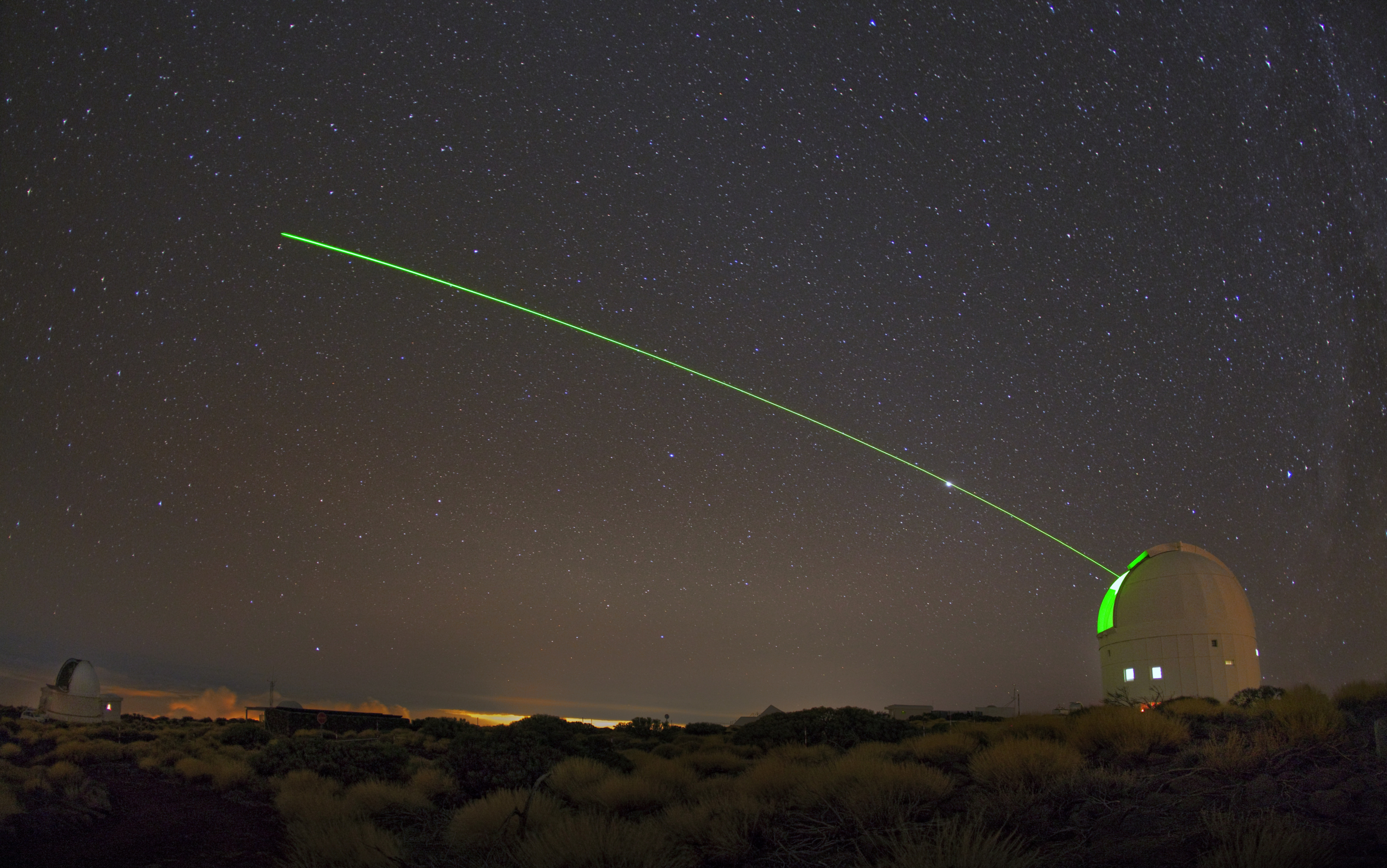 Nu kan forskare upptäcka rymdskrot med laser även i dagsljus