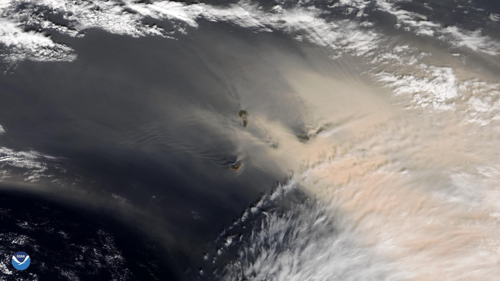 Hur satelliter kan bevaka kriserna från ovan