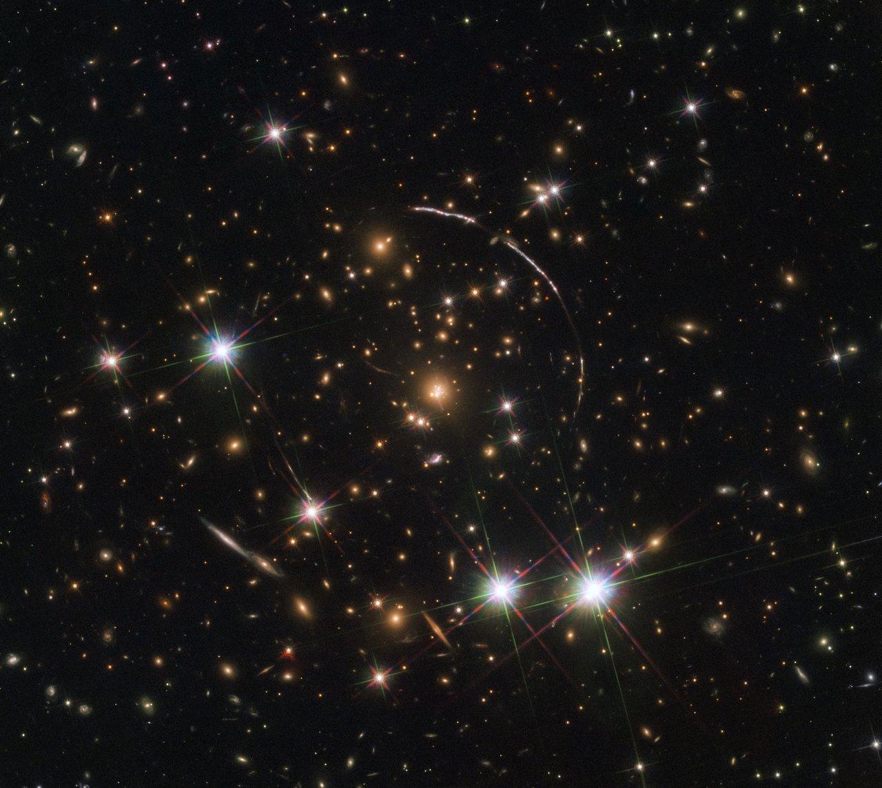 Hubble ser galax 11 miljarder ljusår bort