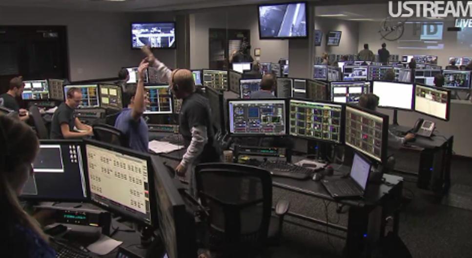 High five i kontrollrummet