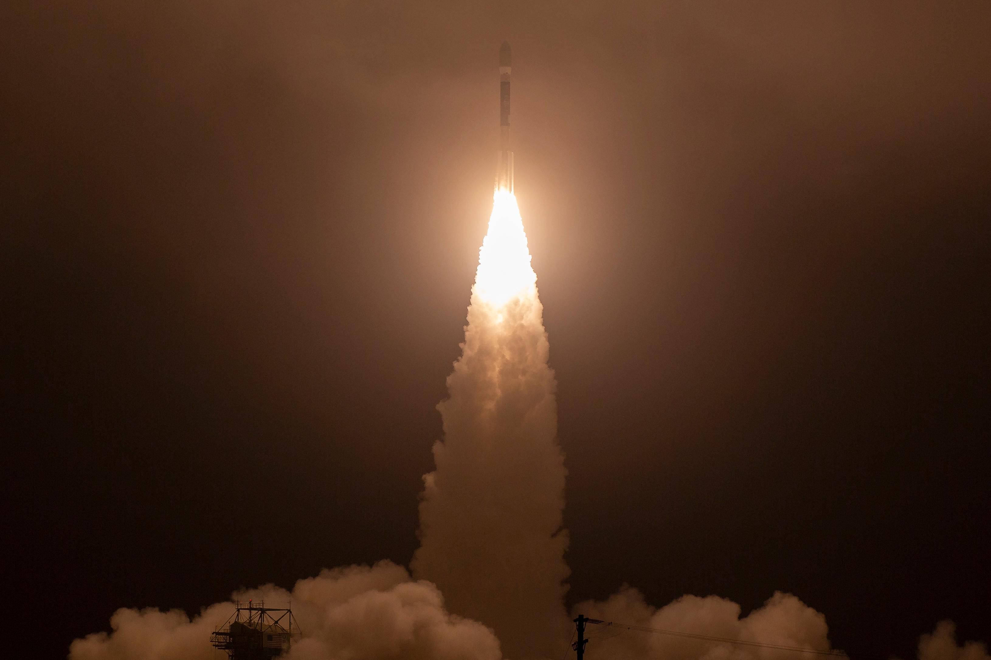 Lyckad uppsändning av Nasas nya is-satellit