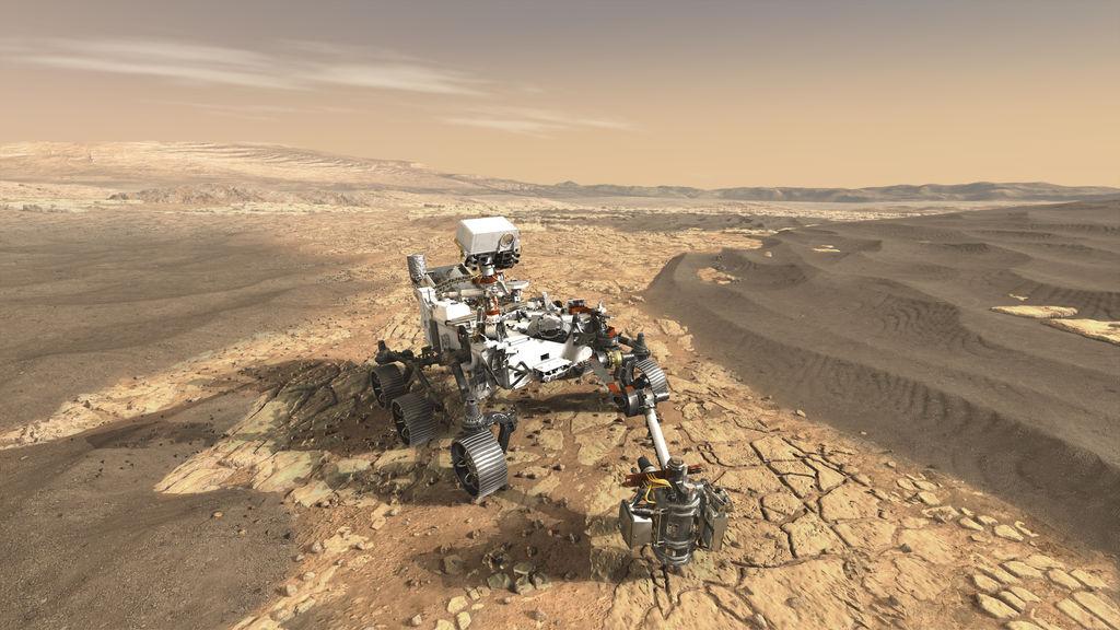 NASA:s rover Perseverance på Mars