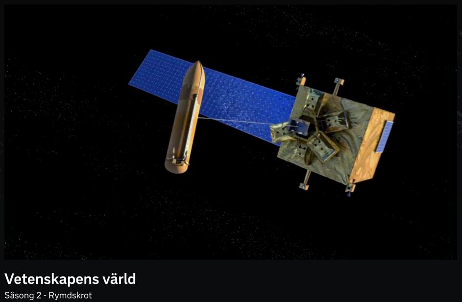 Så städar vi rymden