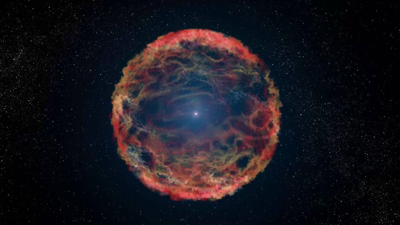 Stjärnan gjorde det omöjliga – exploderade två gånger