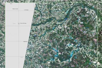 Satelliten Sentinel kartlägger förödelsen efter orkanen Florence