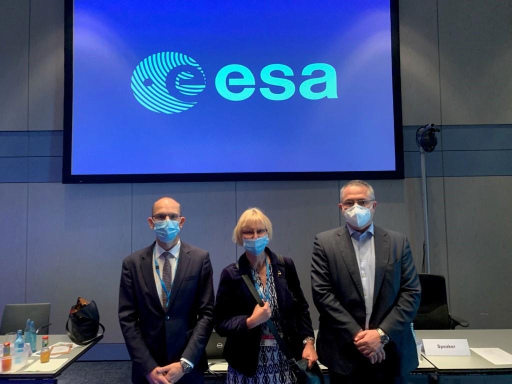 Anna Rathsman väljs till ordförande för ESA Council