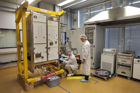 Rymdstationens nya system för vatten- och luftrening