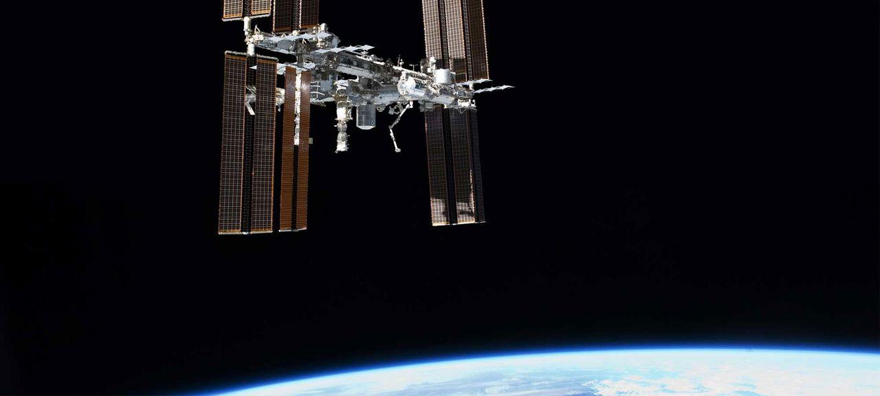 Utbildningsmaterial om Internationella rymdstationen hero