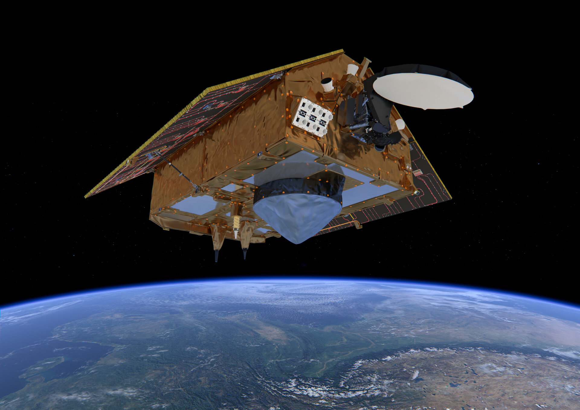 Illustration av Sentinel-6