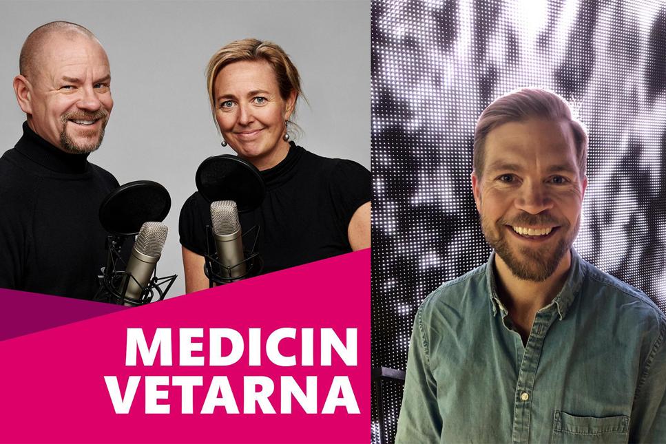 Rymdforskaren Lars Karlsson gästar podden Medicinvetarna