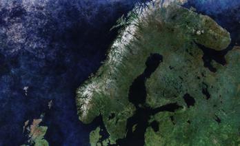 Hela Sverige kartläggs med hjälp av satelliter