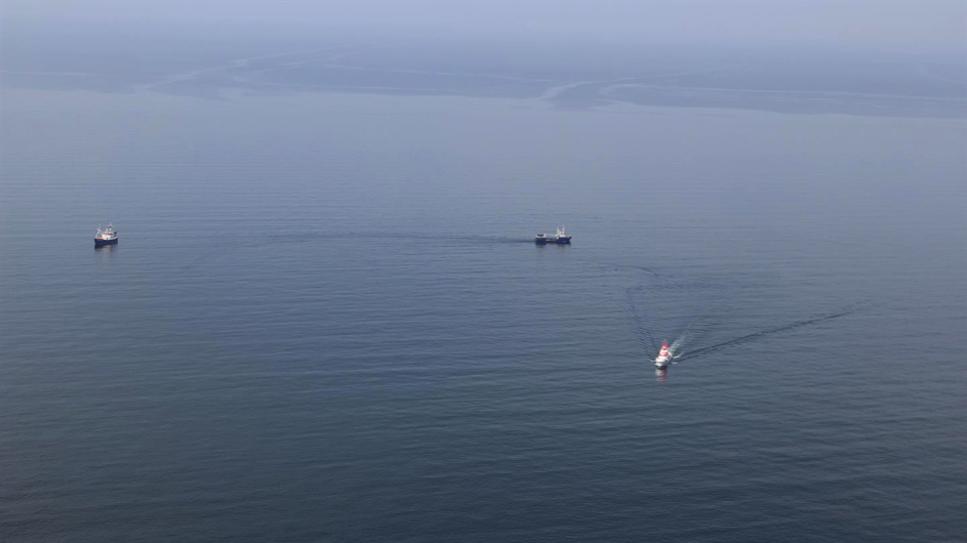 Här testas fartygen i Östersjön.