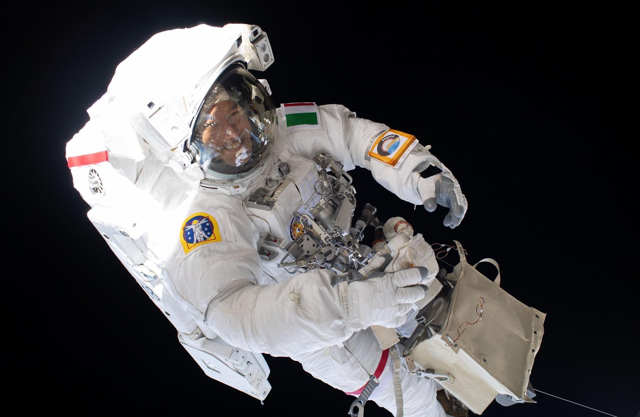 Luca Parmitano har återvänt till jorden