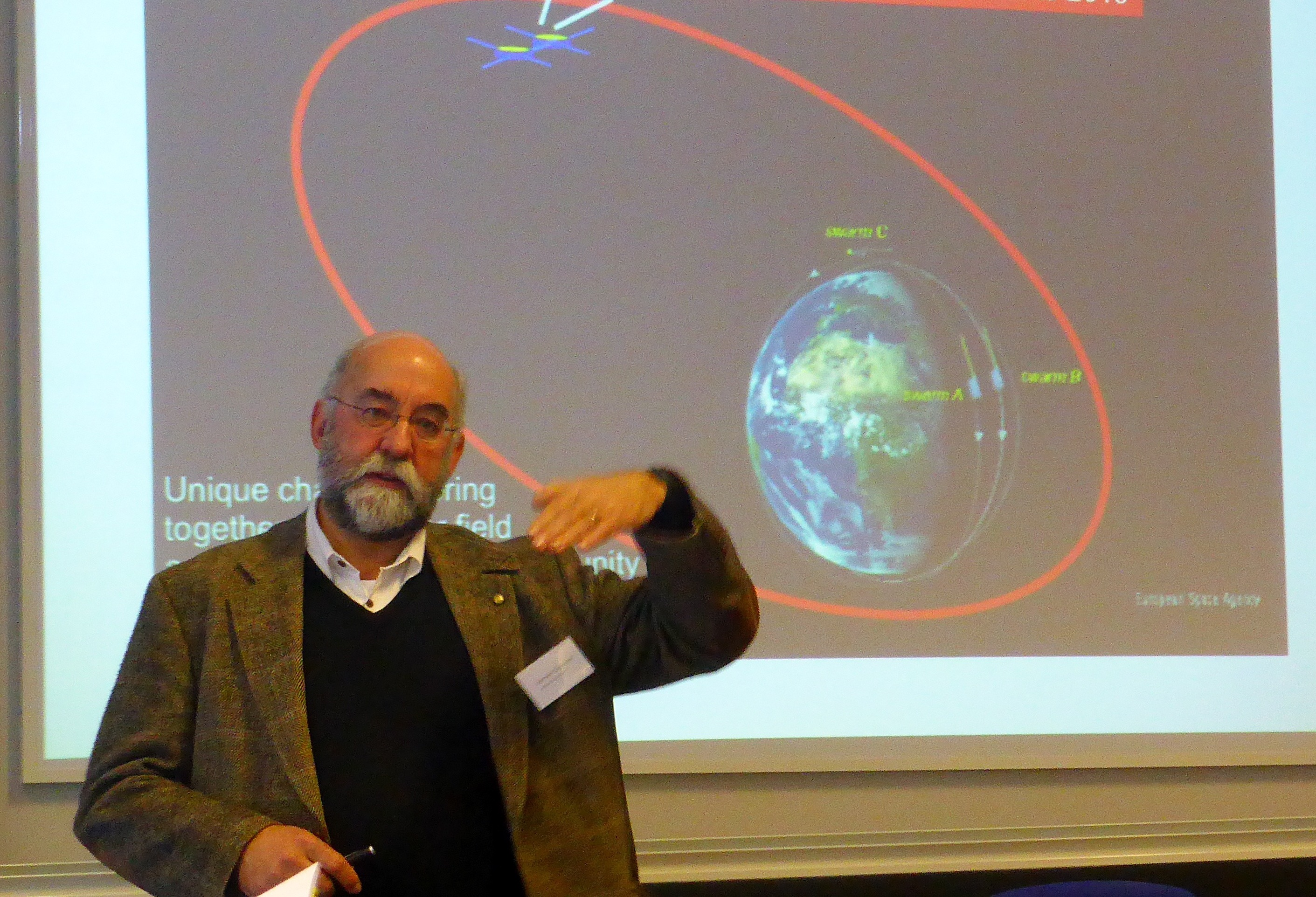 Svensk forskare får internationell medalj för rymdväder