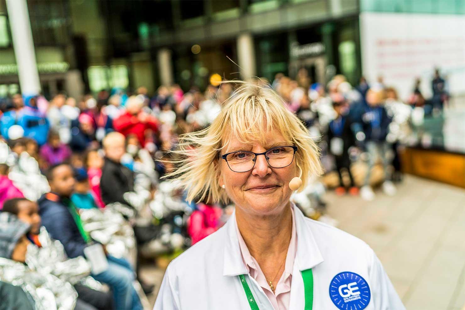 Galaktiskt expertmöte med mellanstadieelever i Göteborg