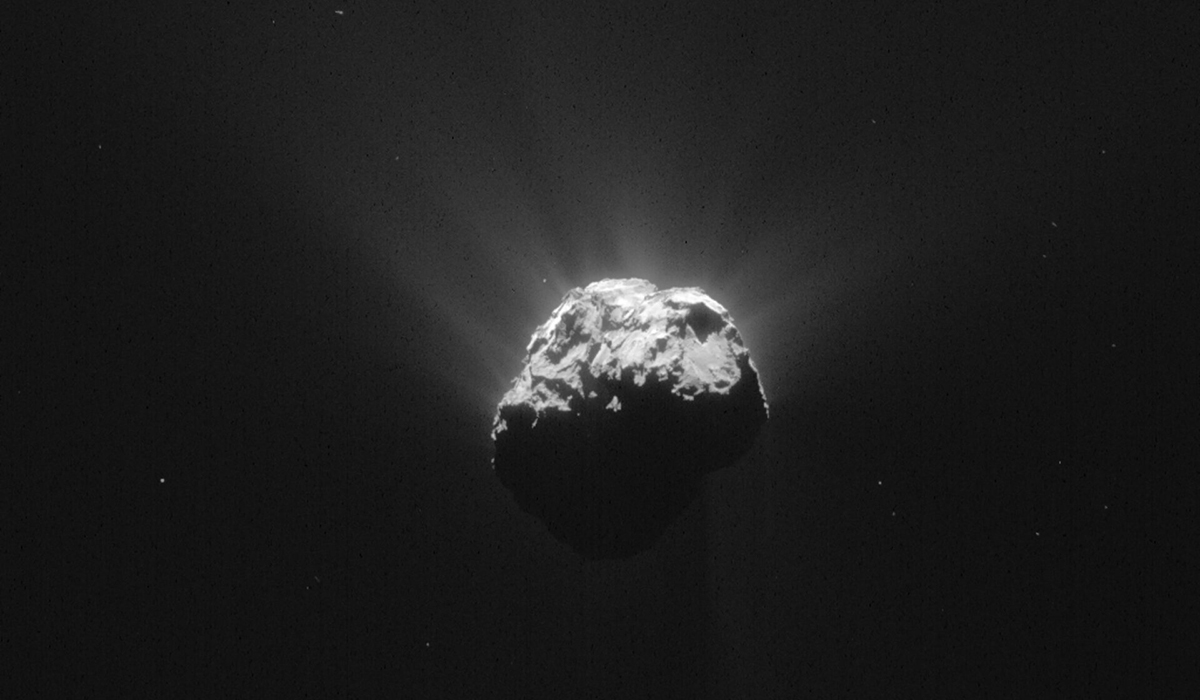Landningen på kometen 67P blev turbulent, vilket visade sig vara lyckosamt för forskarna.