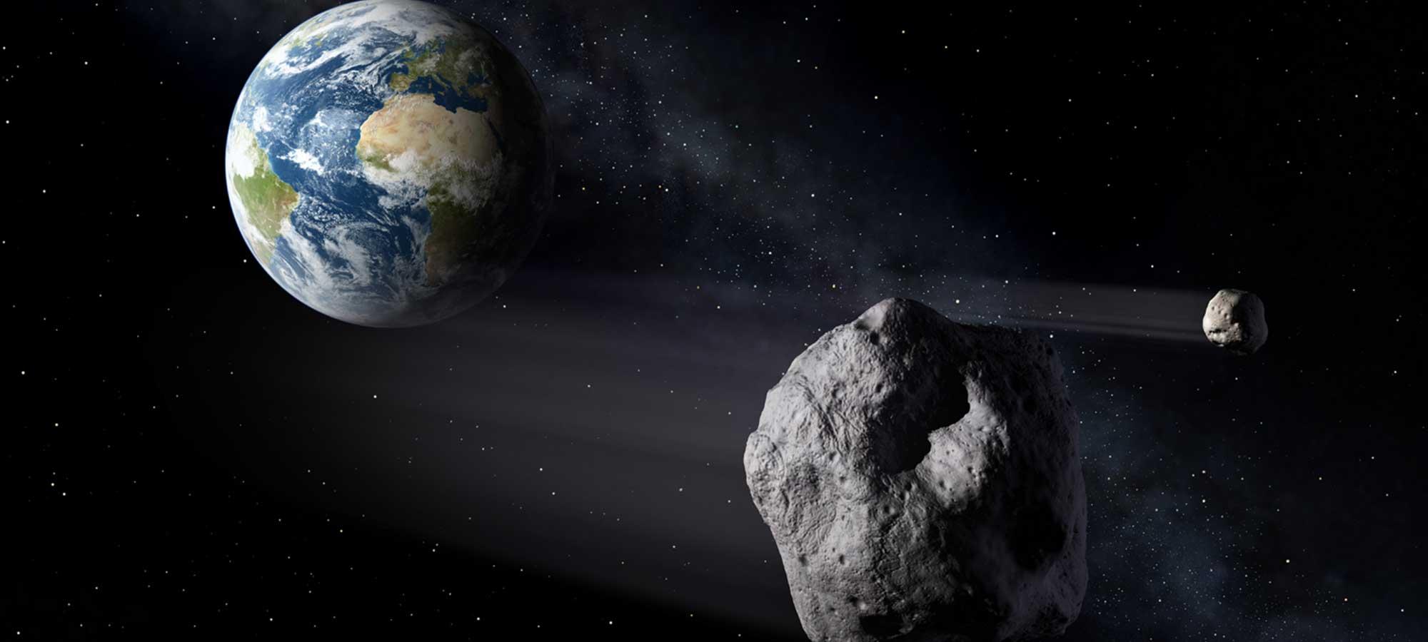 Meteorit, meteor, asteroid och komet