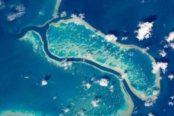 Havsbotten kartläggs med hjälp av rymdteknik