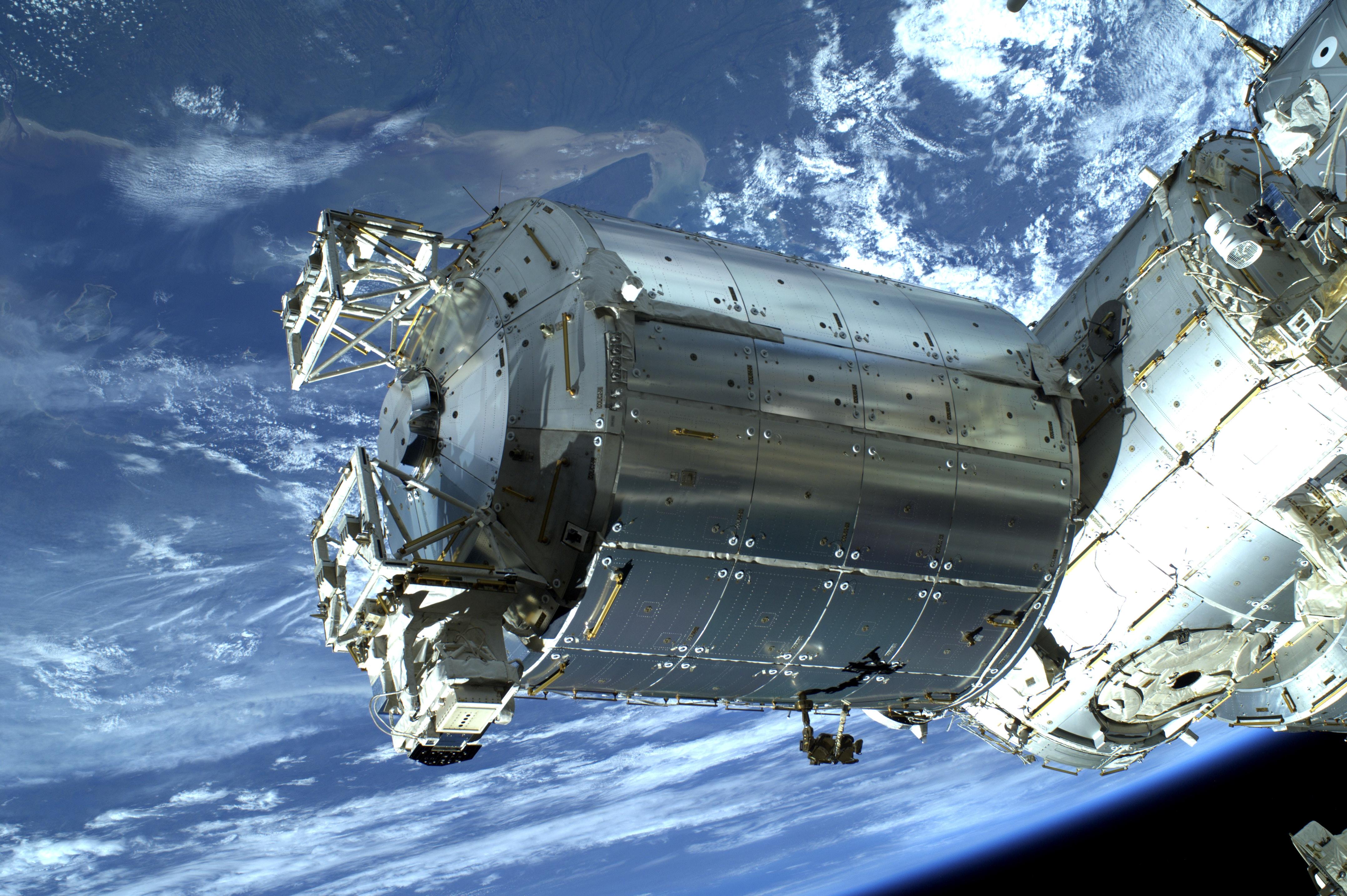 Columbus-laboratoriet firar 10 år i rymden