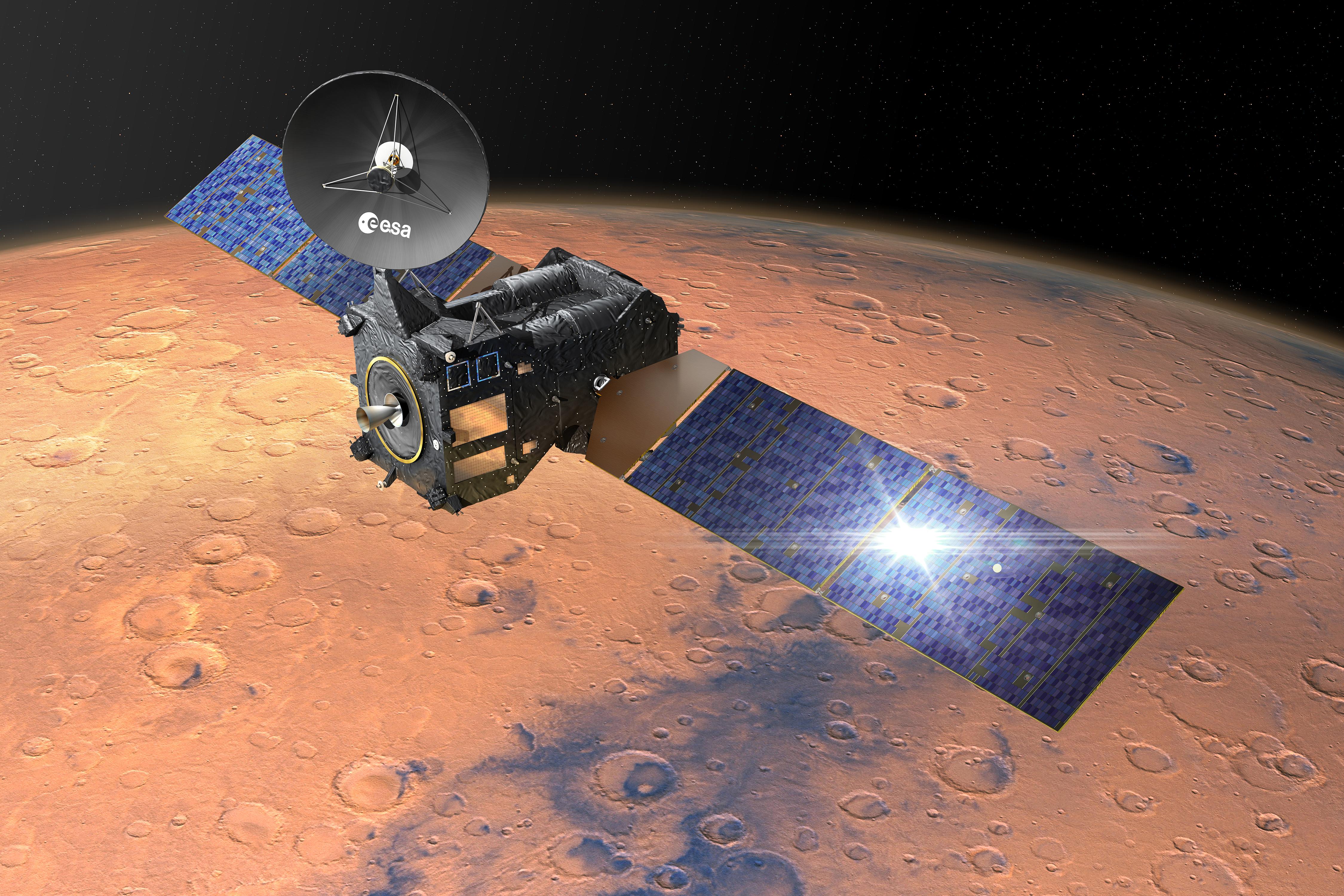 Extremt hög strålning för astronauter på Marsresa