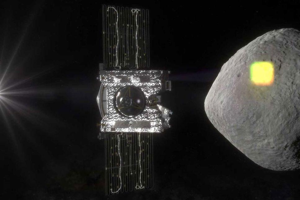 Osiris framme vid asteroiden Bennu – se livesändningen