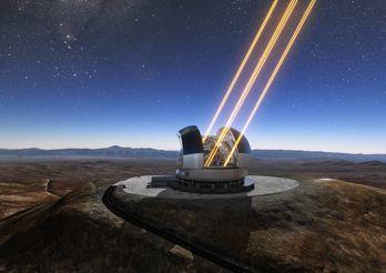Här byggs världens största teleskop