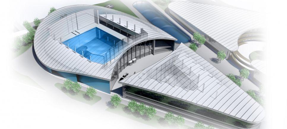 Blue Abyss pool kommer ha ett 50 meter djupt schakt för att simulera minimala gravitationsförhållanden.