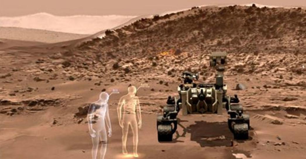 Upplev planeten Mars utan att lämna jorden