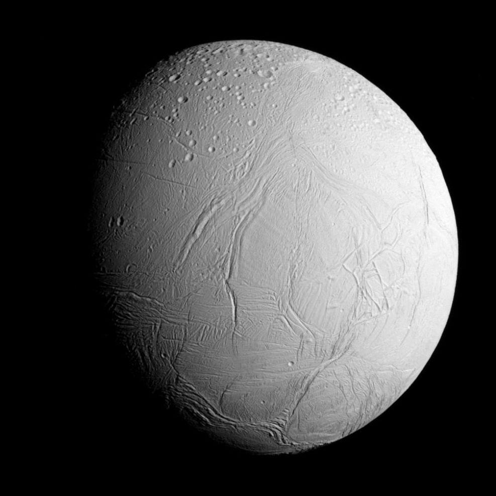 Månen Enceladus