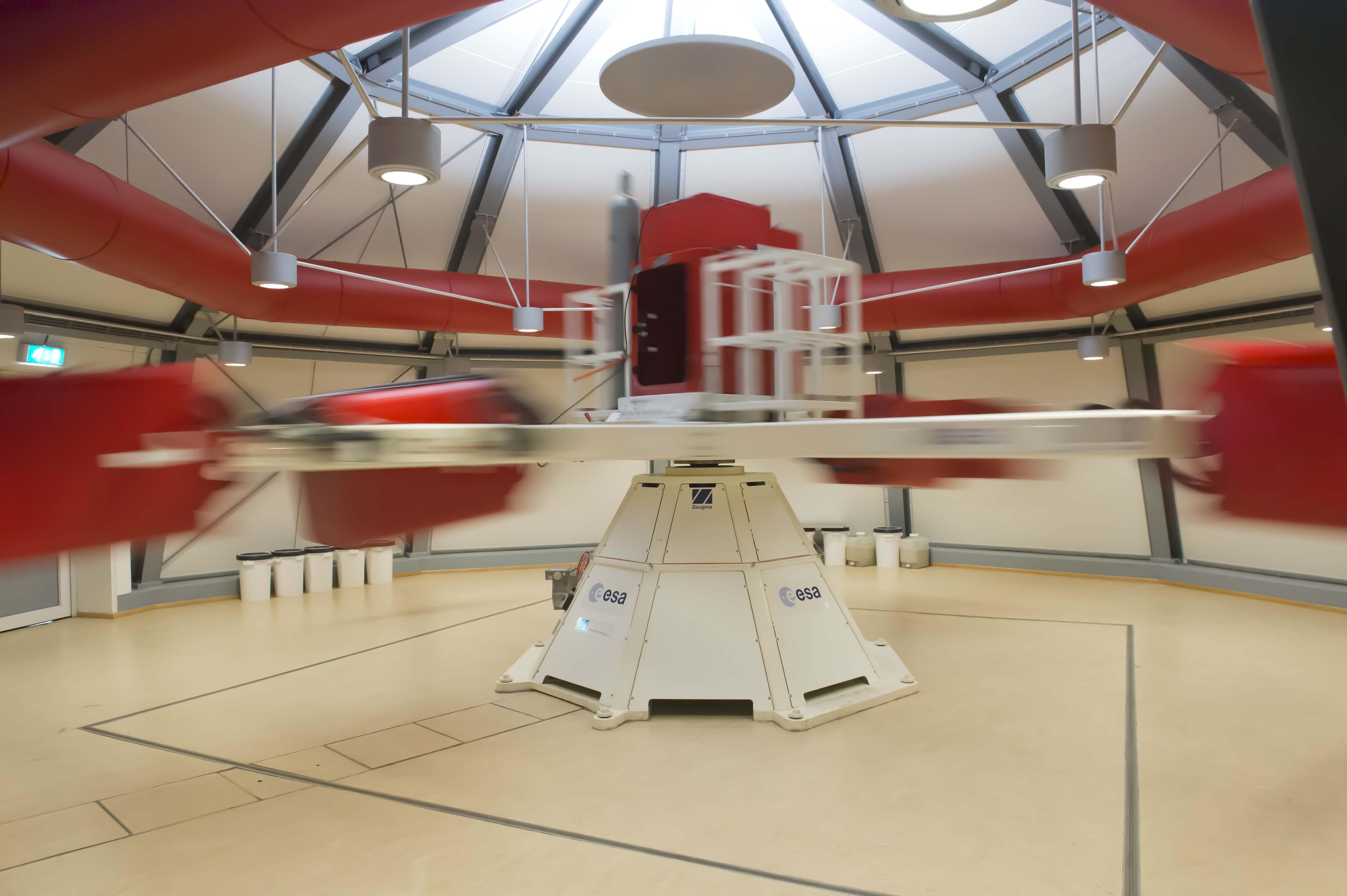 Supercentrifugen öppnas nu för forskare världen över
