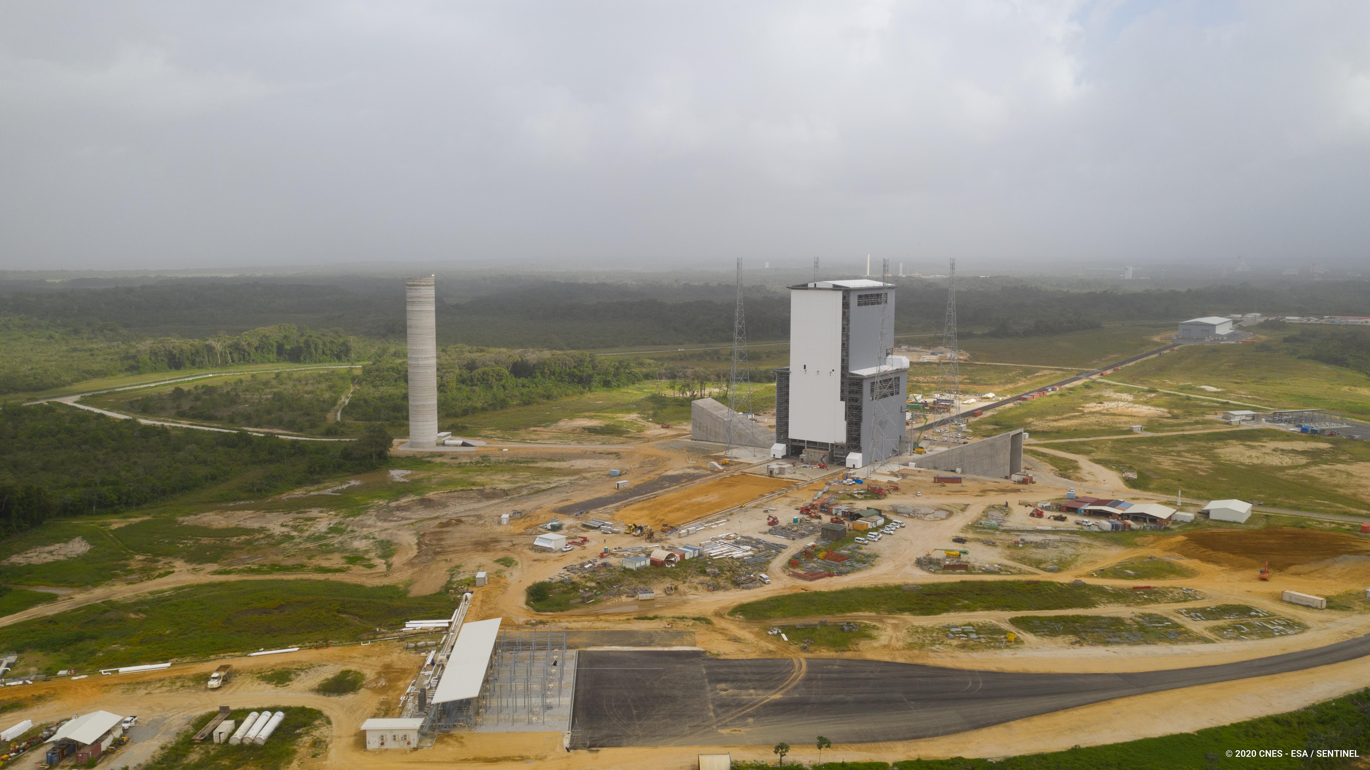 Europeisk rymdbas öppnar igen efter Covid-19