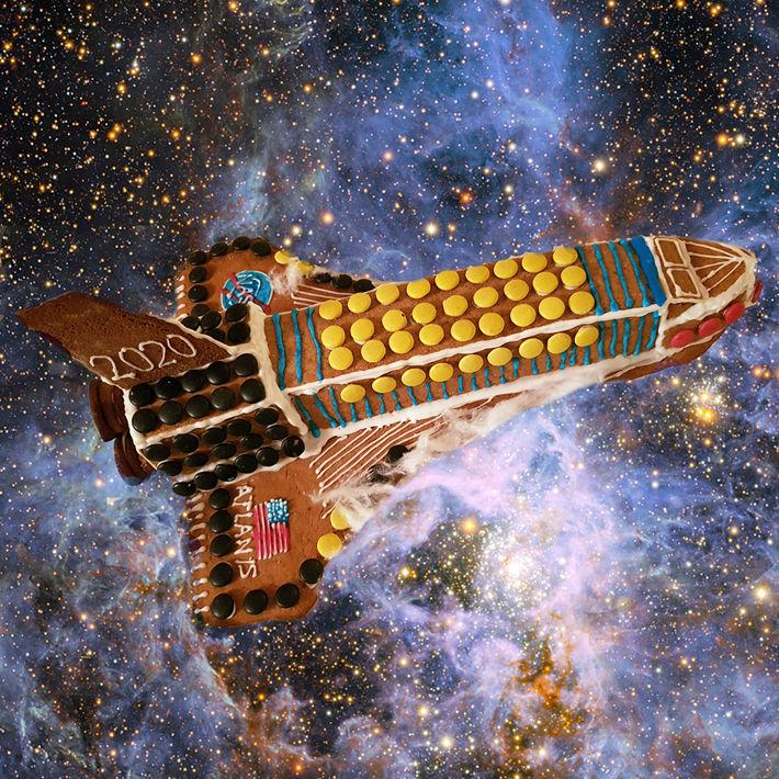 Pepparkaka i rymden.