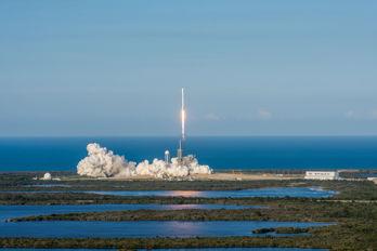 SpaceX först med att flyga återanvänd raket till omloppsbana