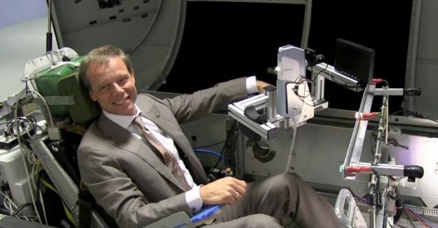 Rymdkanalen besöker nytt rymdcenter