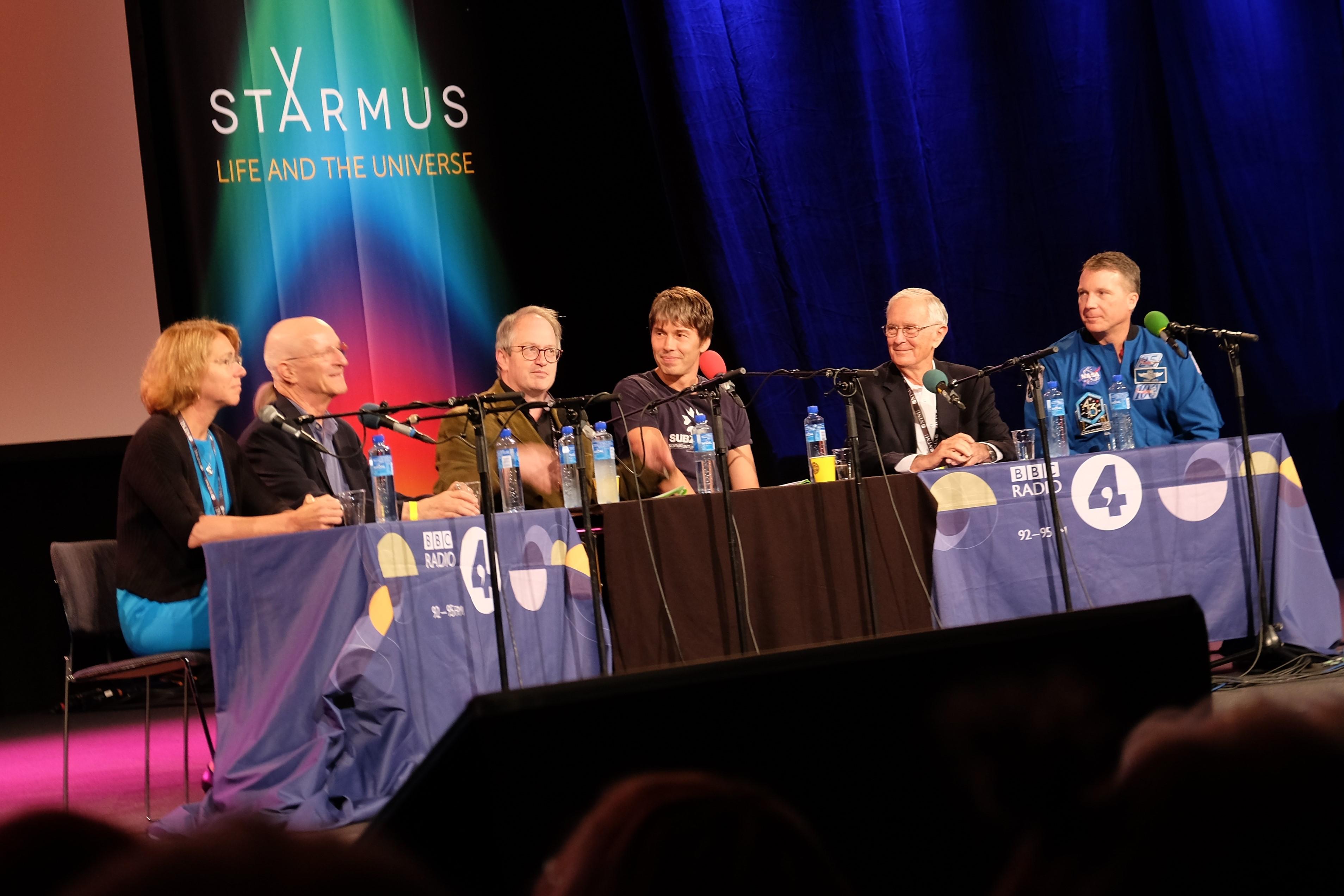 Starmus, dag 2: Apollo 11 och ISS