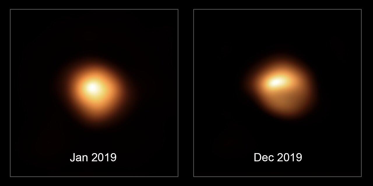 Stjärnan Betelgeuse - döende eller ej?